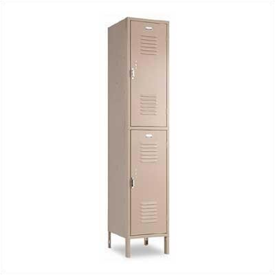 Penco Vanguard Unit Packaged Lockers - Double Tier - 1 Section (Unassembled)