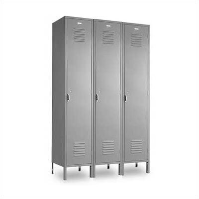 Penco Vanguard Unit Packaged Lockers - Single Tier - 3 Sections (Unassembled)