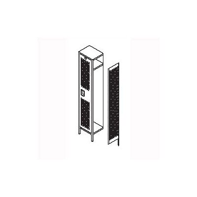 Penco Invincible II Five Tier 1 Wide Locker (Unassembled)
