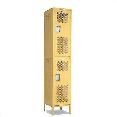 Penco Invincible II 2 Tier 1 Wide Contemporary Locker