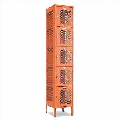 Penco Invincible II Lockers- Five Tier- 1- Section (Unassembled)