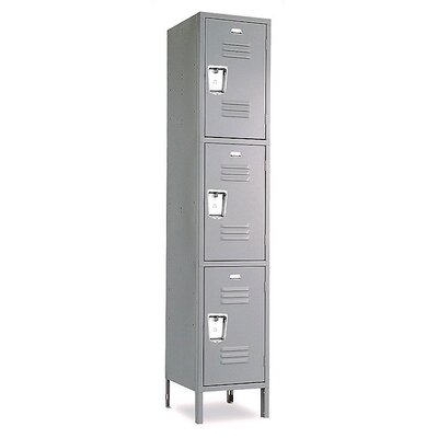 Penco Vanguard Triple Tier 1 Wide Locker (Unassembled)