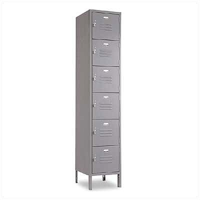 Penco Vanguard Six Tiers 1 Wide Locker (Assembled)