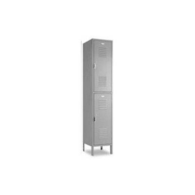 Penco Vanguard Double Tier 1 Wide Locker (Unassembled)
