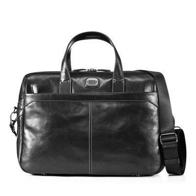 Bric's Life Pelle Medium Briefcase with 2 Handles