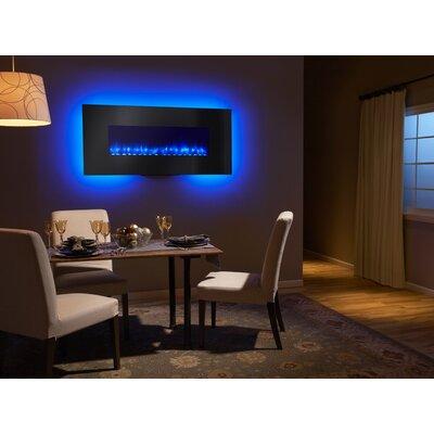 Simplifire 58 modern linear wall mount electric fireplace reviews wayfair - Contemporary wall mount fireplace ...
