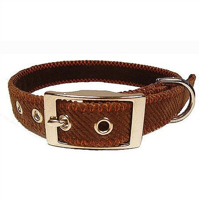 George SF Corduroy Tiny Dog Collar