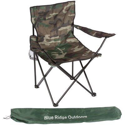 Blue Ridge Novelty Camouflage Folding Chair