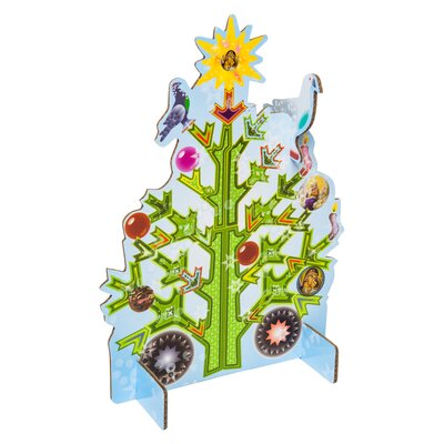 Xmas Tree Pop Out Card