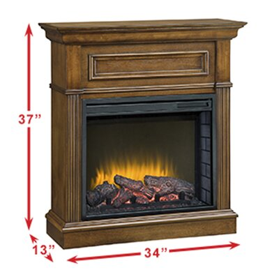 Pleasant Hearth Hawthorne Compact 23 Electric Fireplace Reviews Wayfair