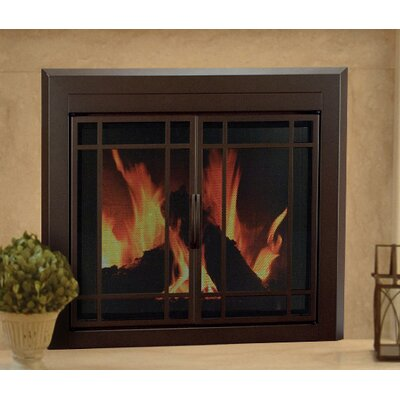 pleasant hearth enfield prairie cabinet style fireplace
