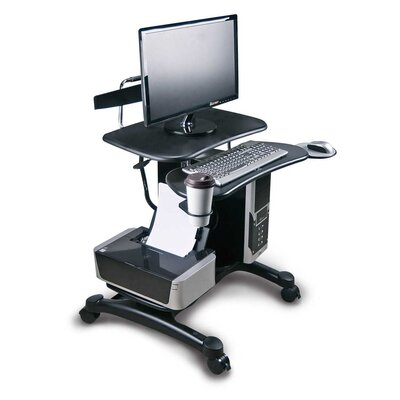 Aidata U.S.A Heavy Duty Mobile PC Workstation