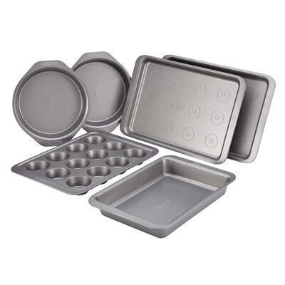 Basics Bakeware Nonstick 6 Piece Bakeware Set