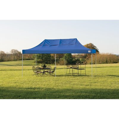 ShelterLogic 10' x 20' Straight Leg Popup Canopy with Wheel Bag