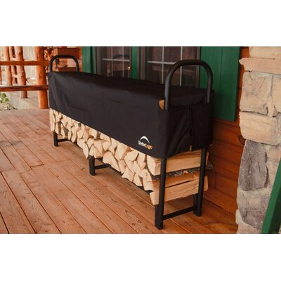 "ShelterLogic 96"" Covered Firewood Rack"
