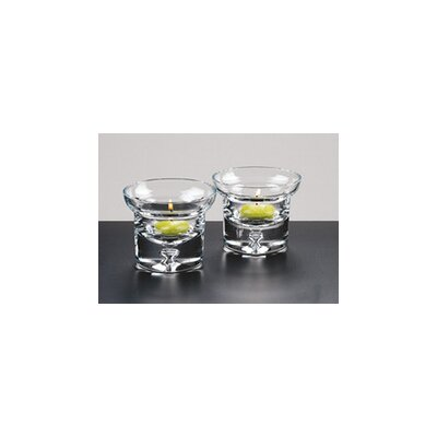 Badash Crystal Galaxy Glass Tealight Holder (Set of 4)