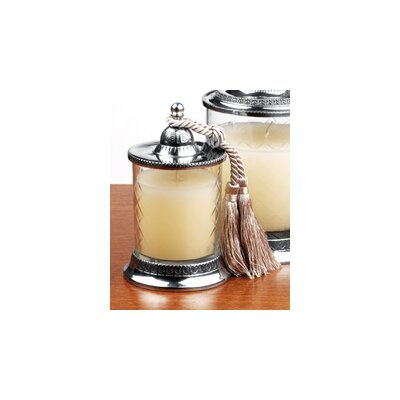 Badash Crystal Jar Candle with Tassel