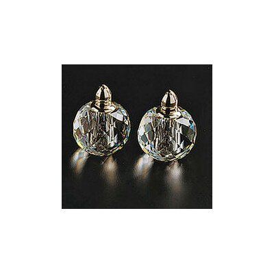 Badash Crystal Zendra Salt and Pepper Shaker Set