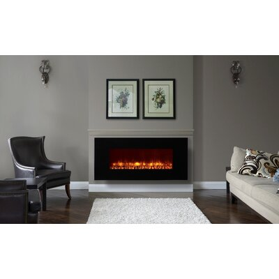Dynasty fireplaces wayfair for 24 wall mount electric fireplace