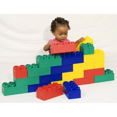 Kid's Adventure Jumbo Blocks 24 Piece Beginner Set