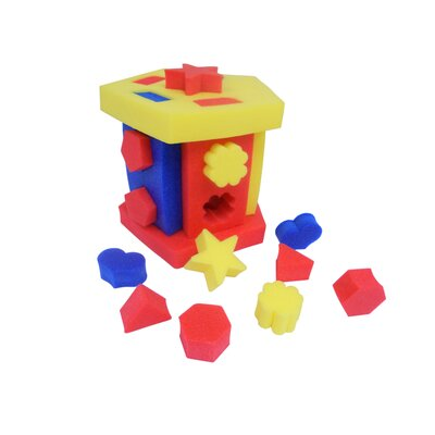 Educational Shape Sorter and Chair