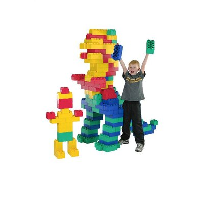 Kid's Adventure Jumbo Blocks 192 Piece Set