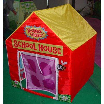 Kid's Adventure Nickelodeon Yo Gabba Gabba Play House - School House Play Tent