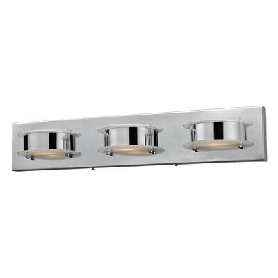 Nulco Lighting Northholt 3 Light Wall Sconce
