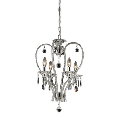 Nulco Lighting Drapersfield 4 Light Chandelier