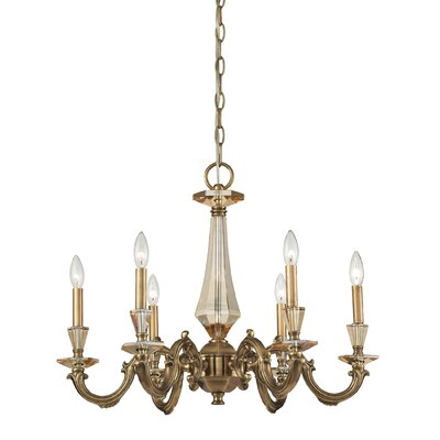 Nulco Lighting Kenilworth 6 Light Chandelier