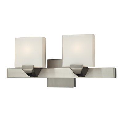 Nulco Lighting Milano 2 Light Bath Vanity Light