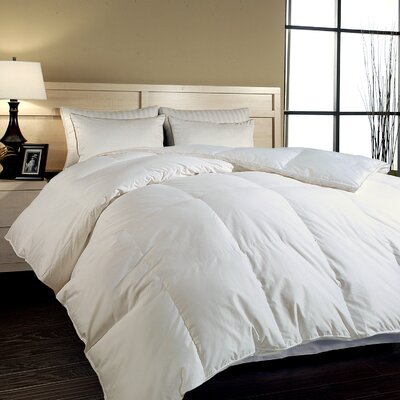 Blue Ridge Home Fashions 700 Thread Count Hungarian White Goose Down Comforter