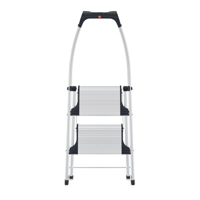 Hailo LLC Living Step Comfort 2 Step Ladder