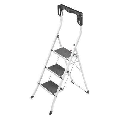 Hailo LLC Safety Plus 3-Step Step Stool