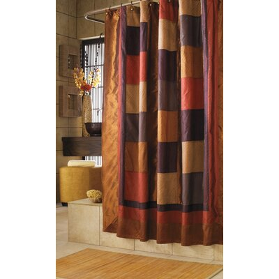 Manor Hill Bedding Kashmir Polyester Shower Curtain