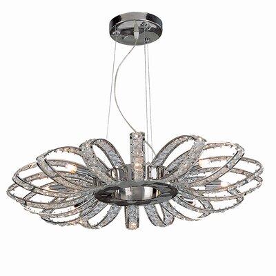 Bromi Design Brilliance 8 Light Crystal Chandelier