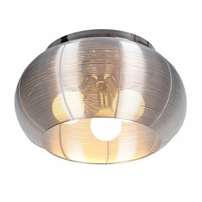 Bromi Design Lenox 3 Light Flush Mount