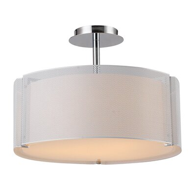 Lynch 3 Light Drum Pendant