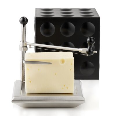 Nuance Cheese Slicer/Cube in Black