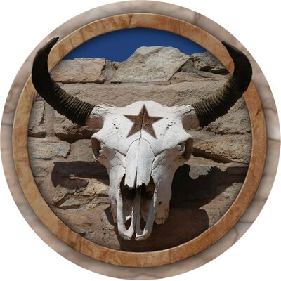 Cow Skull Western Star Occasions Coaster (Set of 4)