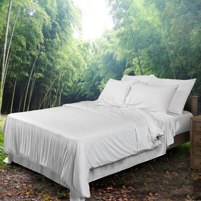 Ettitude Inc. Bondi 300 Thread Count Bamboo Fitted Sheet