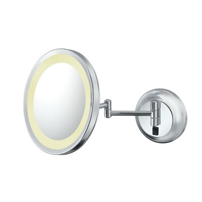 Kimball & Young Single Sided LED Hardwire Round Wall Mirror