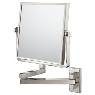 Mirror Image Square Double Arm Wall Mirror