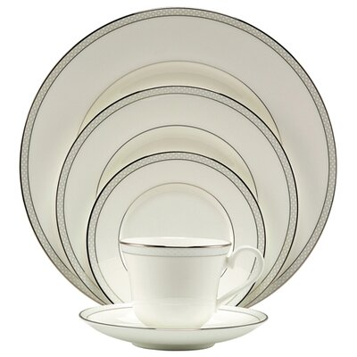 Nikko Ceramics Ocean Beaded Pearl Dinnerware Set
