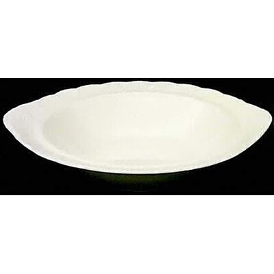 "Nikko Ceramics White Satin 10.25"" Vegetable Bowl"