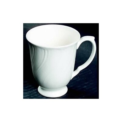 Nikko Ceramics White Satin 12 oz. Coffee Mug