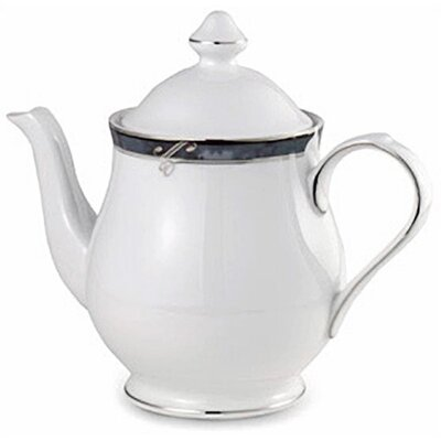 Nikko Ceramics Sentiments Moonstone 27 oz. Tea Pot and Lid