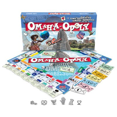 Late for the Sky Omaha-Opoly Board Game