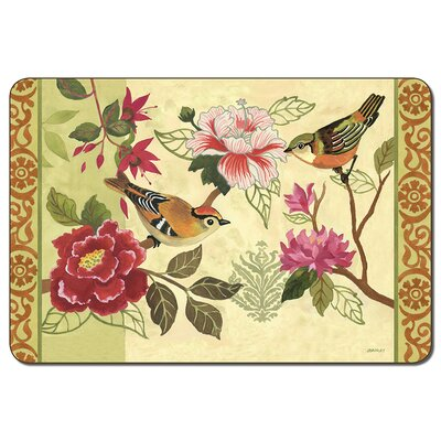 Bird Study Assorted Placemat (Set of 4)