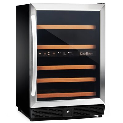 50 Bottle Compressor Dual Zone Wine Cooler